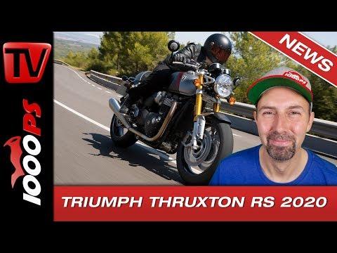 Triumph Truxton RS 2020 - mehr Power, mehr Performance!