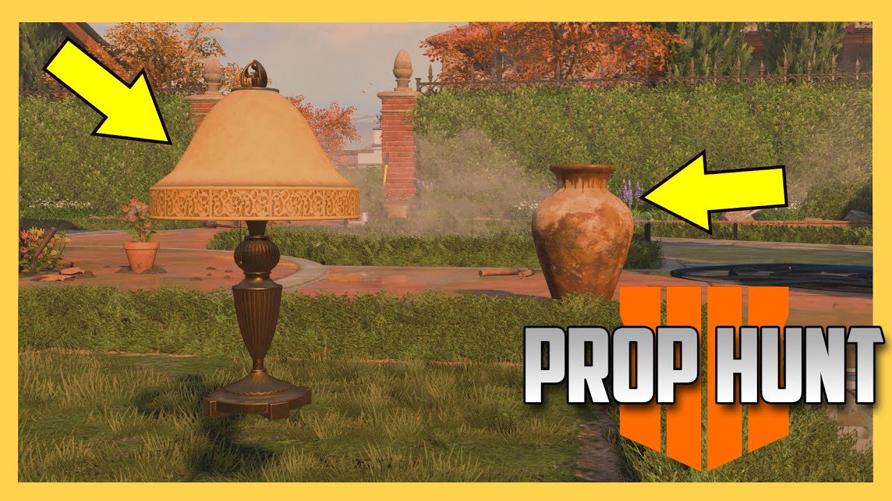 NEW! Prop Hunt in Black Ops 4 | Swiftor