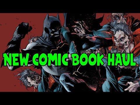 New Comic Book Haul December 20 2017