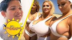 Peinliche XXL-Brüste: So ergeht es Kindern mit Hot-Moms & ihren Op-Wahn | SAT.1 Frühstücksfernsehen
