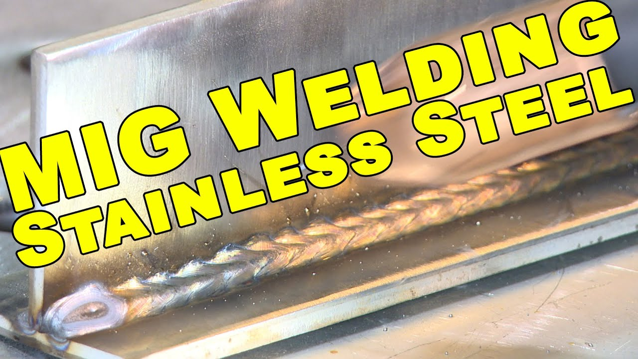 Stainless Steel MIG Welding Tips | MIG Monday - YouTube