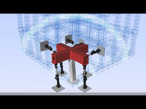 Large Scale Hybrid Testing of structures using MAST
