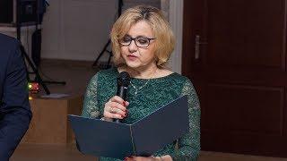 Studniówka ZS w Małkini Górnej - wystąpienie dyrektor
