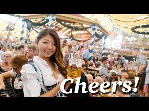 BIGGEST BEER FESTIVAL IN THE WORLD! Oktoberfest 2017 Munich, Germany