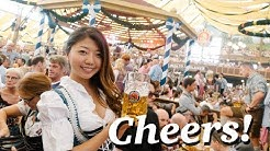 BIGGEST BEER FESTIVAL IN THE WORLD! Oktoberfest 2017 Munich, Germany