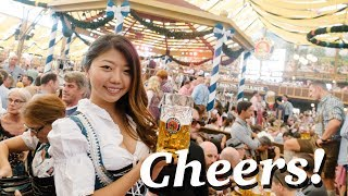 Learn about the BIGGEST BEER FESTIVAL IN THE WORLD! Oktoberfest Munich, Germany