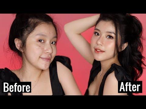 Bí Quyết Đánh Nền Căng Bóng Chuẩn Hàn Quốc ft. Quỳnh Thi | Korean Glass skin Makeup