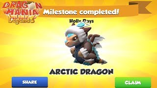 Baixar I got Arctic Dragon +  Holly Days Events Phase 4 - Gameplay , Dragon Mania Legends -part 669 HD