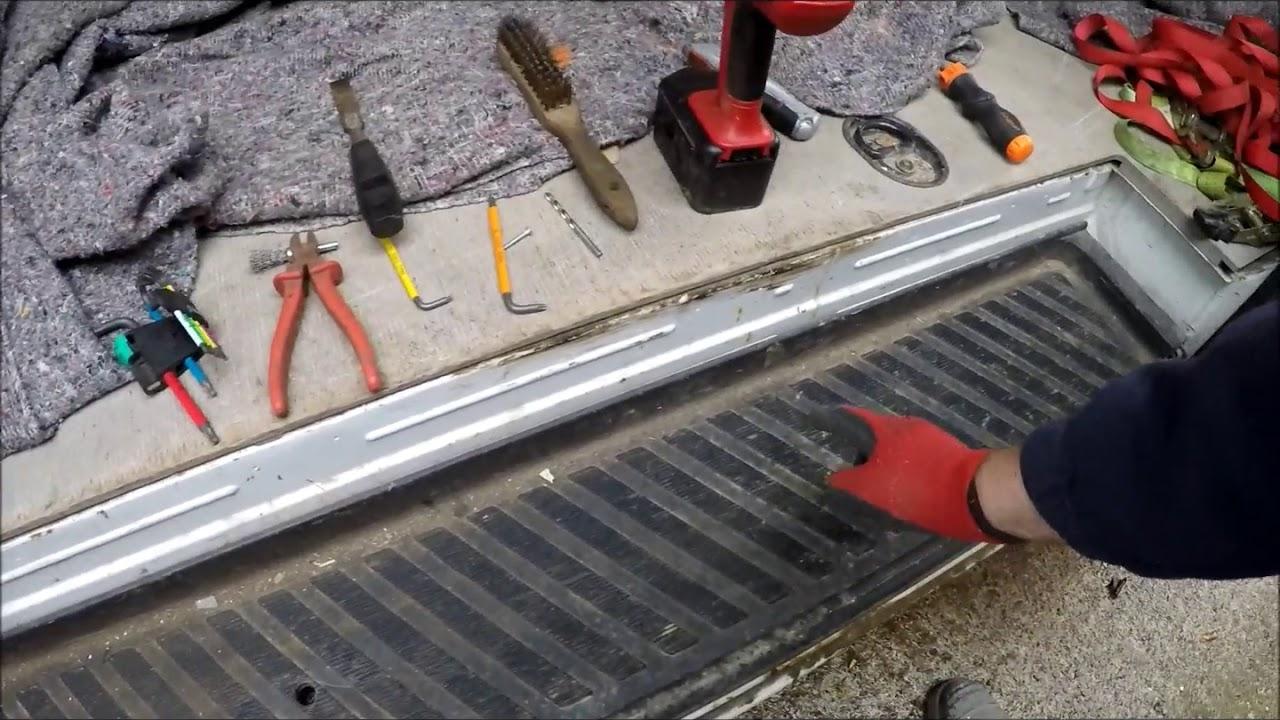 Mercedes Sprinter Side Loading Door Removal Repair Tips Help Youtube