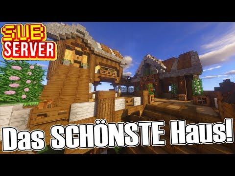 Das SCHÖNSTE Haus auf dem Server! - Minecraft SubServer mit Clym | Earliboy