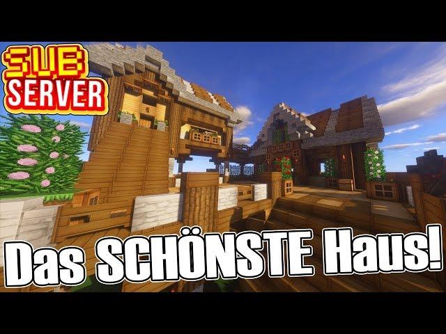 Das SCHÖNSTE Haus auf dem Server! - Minecraft SubServer mit Clym   Earliboy