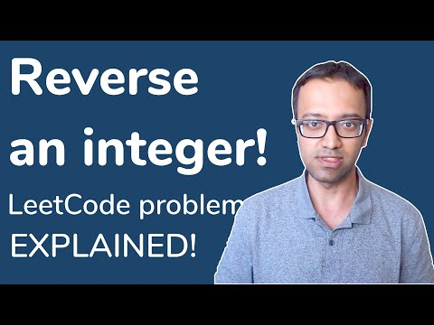 Reverse an Integer value - LeetCode Interview Coding Challenge [Java Brains] thumbnail