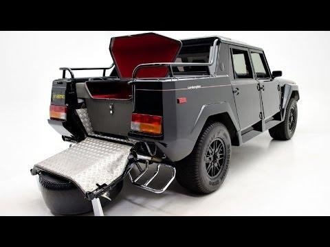 The Rambo Lambo Lm002 V12 Suv Youtube