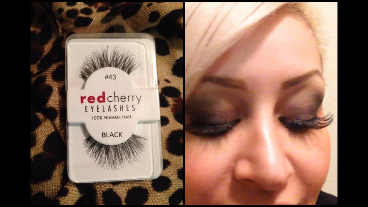 My Everyday Lashes Red Cherry 43 Youtube