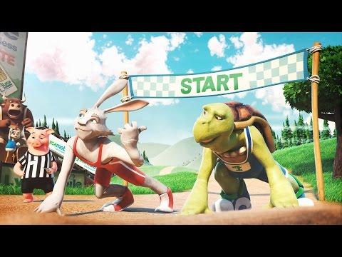 LYCAMOBILE US Hare vs Tortoise Race (1 minute version HD)