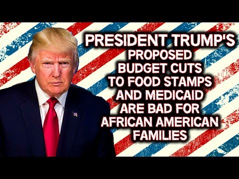 President Trump's Budget Cuts to Food Stamps and Medicaid are bad for African Americans