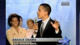 Barack Obama Senate Victory Speech 2004 (Intro)
