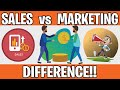 Sales and Marketing | Meaning | Difference | Alignment | Mr Smart