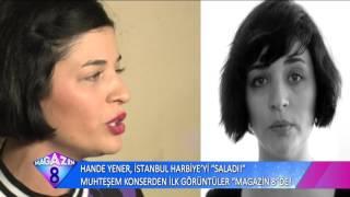 Hande Yener İstanbul Harbiye'yi Salladı Muhteşem Konserden Görüntüler