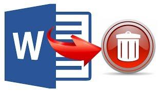 как удалить Ворд: удалить Word 2016 или полностью Microsoft Office с компьютера Windows 10