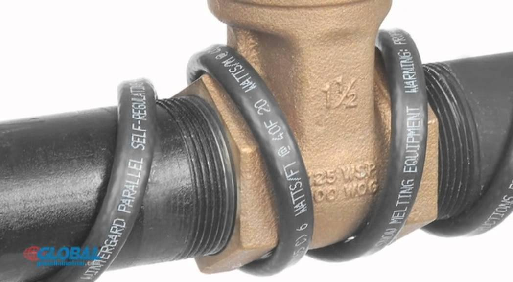 Wintergard Wet Heating Cable 50 Ft Youtube