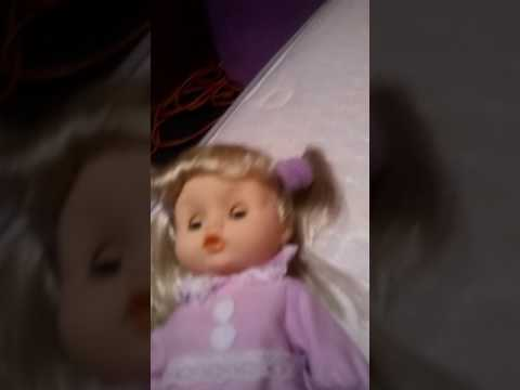 Destiny's new doll singing Jesus loves me