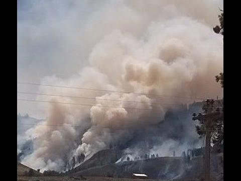 Carlton Fire Complex 2014