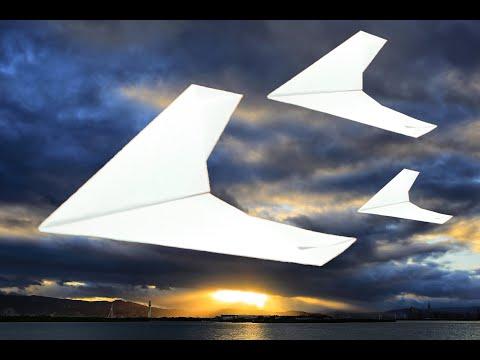 Вопрос: Как сделать самолетик оригами?