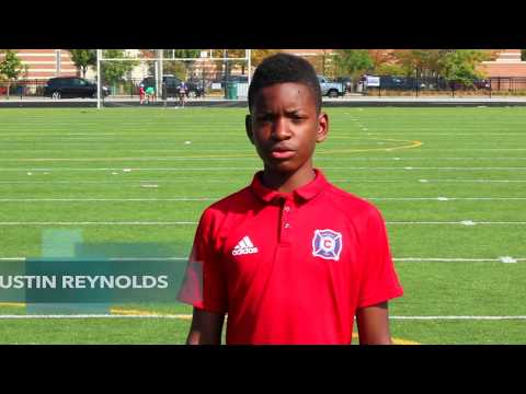 13 Year Old Justin Reynolds Athletic Center Back/Center Mid For Chicago Fire Academy