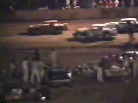 Rice Lake Speedway (late 80's) wissota super stocks