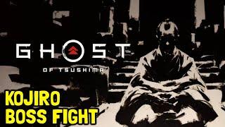 Ghost Of Tsushima Kojiro Boss Fight (The Six Blades Of Kojiro Mythic Tale Boss)