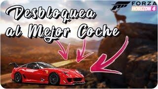 ¡Desbloquea al Mejor Coche de Forza Horizon 4! | Ferrari 599XX Evo + Test en Circuito