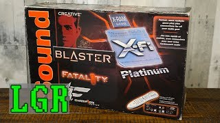 XP Upgrade! Sound Blaster X-Fi Platinum Fatal1ty Sound Card