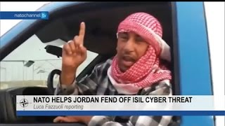NATO helps Jordan fend off ISIL cyber threat.