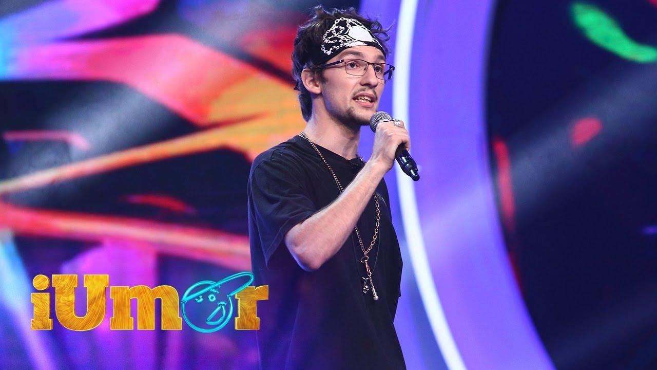 Andrei Didiță, număr de rap pe scena iUmor!