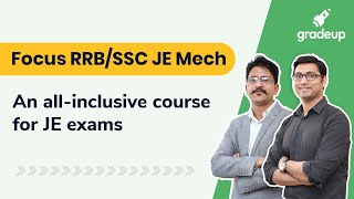 Focus RRB/SSC JE Mech: An all-inclusive course for JE exams