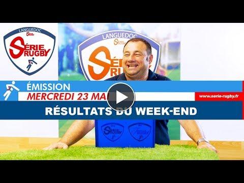 Emission Série Rugby Mercredi 23 mai 2018