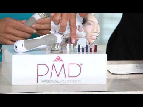 PMD Personal Microderm Pro W/ Replacement Discs With Lisa Robertson