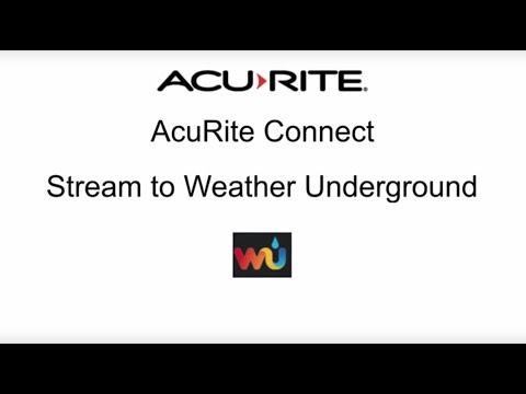 AcuRite PC Connect - Stream to Weather Underground