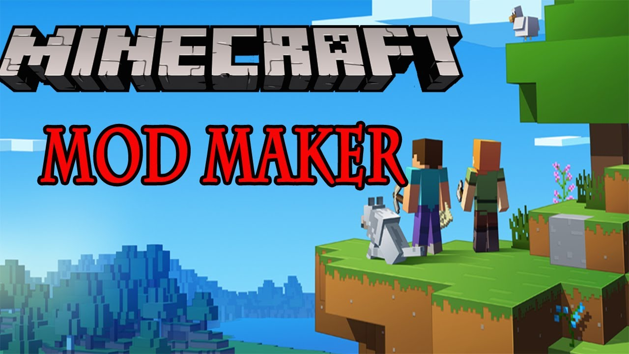 How to use Mod Maker for Minecraft Pe Easy tutorial to make your
