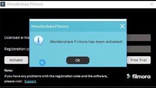 filmora licensed email and registration code 7.5.0