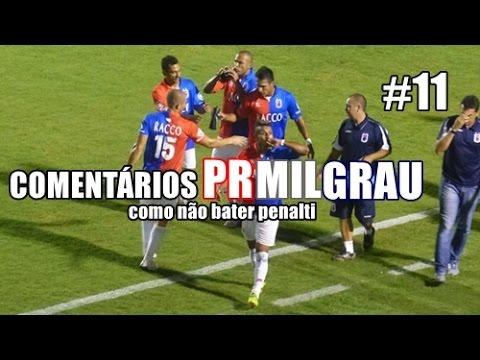 Paraná 2x0 Estanciano 21/04/16 - Comentários PRMILGRAU