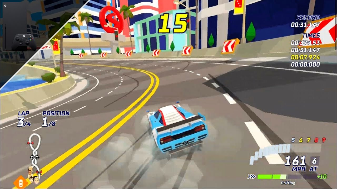 Hotshot Racing Xbox Series X Gameplay [60fps]