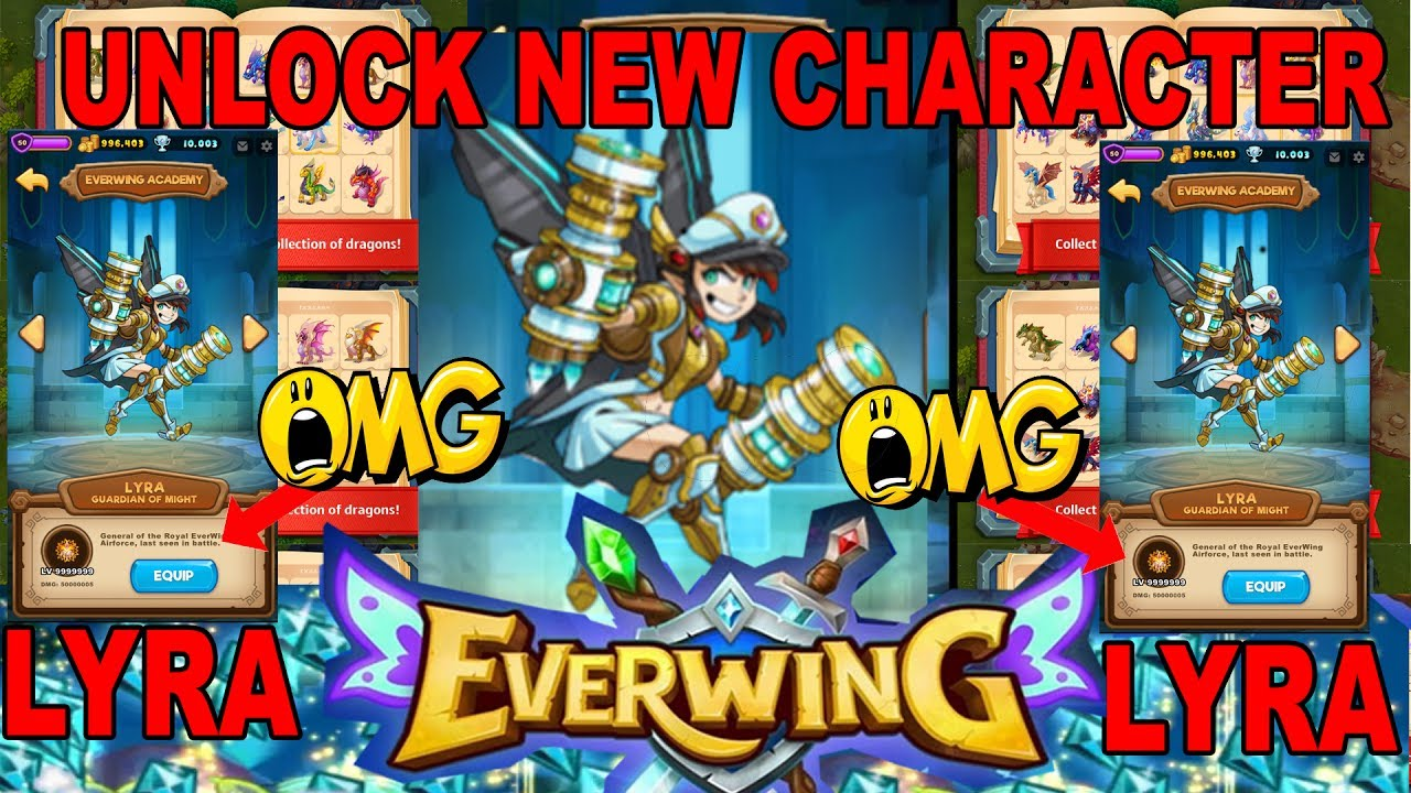[WORKS 27/7/17]EVERWING UNLOCK LYRA NEW CHARACTER !- HACK CHEAT WORKING