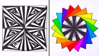 16 Cool Drawing Tricks You Should Try