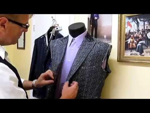 Bespoke and Custom made suits by Master Tailor Rudolf Popradi