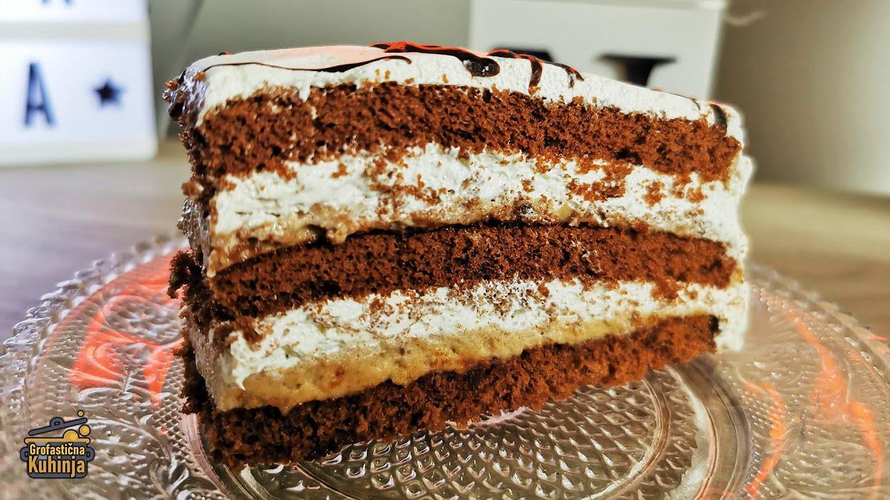 ČOKO-MOKO torta (ukusna, jednostavna i gotova za 20min.) |  Recept 🎩 Grofastična Kuhinja