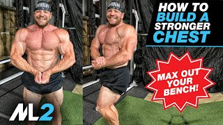 100lb Dumbbell Press PR! - Weight + BAND Chest Workout - Home Gym Workout Day 8