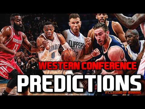 Western Conference NBA Playoff PREDICTIONS