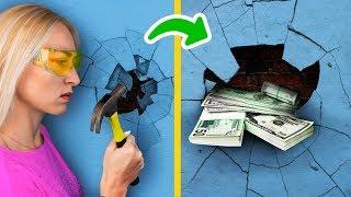 23 วิธีซ่อนเงินในบ้านให้ห่างสายตาโจร